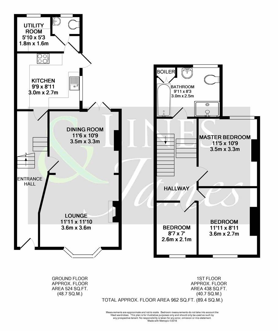 Floorplan for Station Road, Horsham